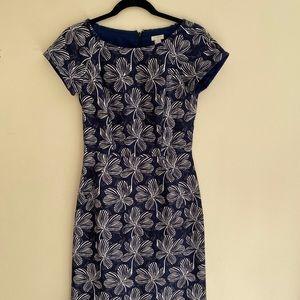 JCrew Factory Basketweave Dress.